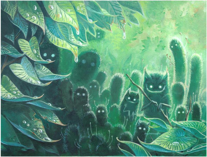 Moss Crawlers