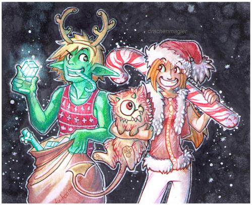Christmas Raid by drachenmagier