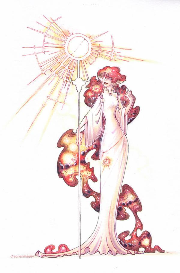 sun mage by drachenmagier