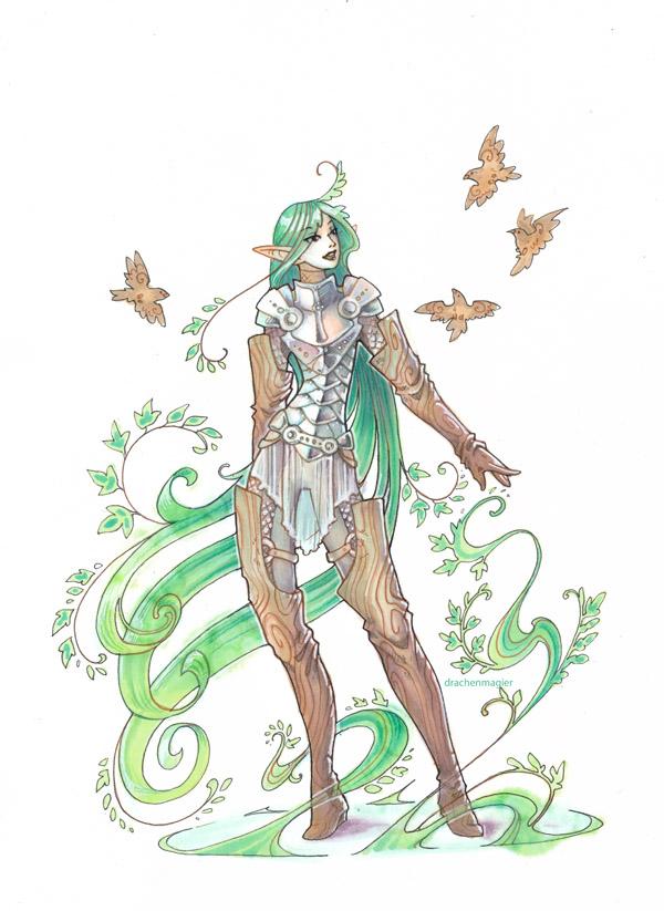 plant elf by drachenmagier
