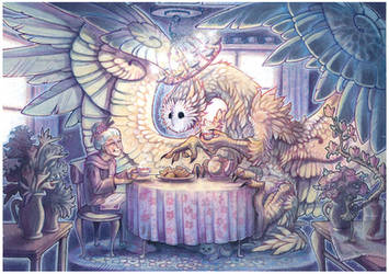 tea party by drachenmagier
