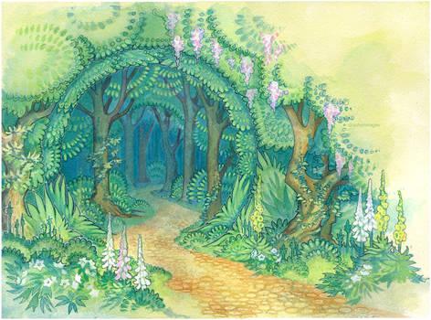 forest gates by drachenmagier