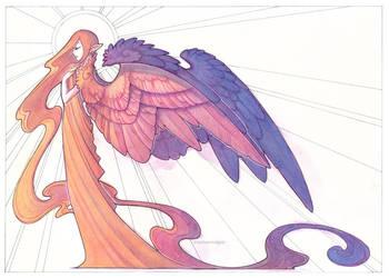 dawn angel by drachenmagier