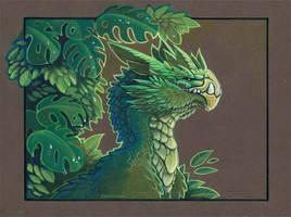 tropical dragon by drachenmagier