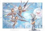 Wasps!! by drachenmagier