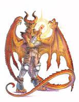 commission - burnscale by drachenmagier