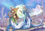 commission - lamia sisters