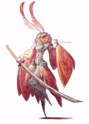 samurai moth