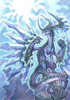 crystal dragon by drachenmagier