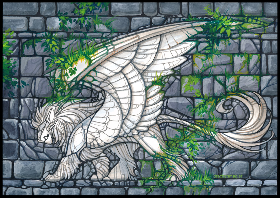 the ancient mosaic by drachenmagier