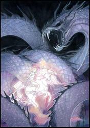 galaxy serpent by drachenmagier