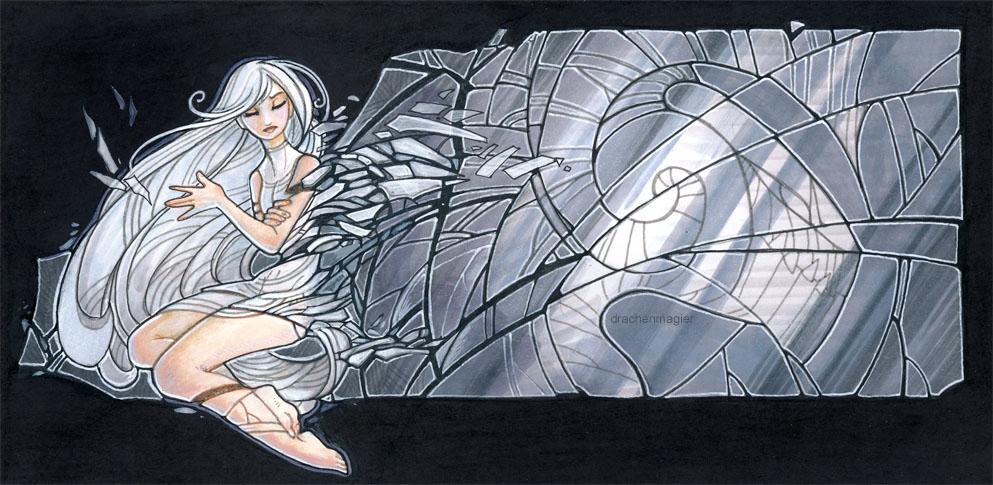mirror girl by drachenmagier