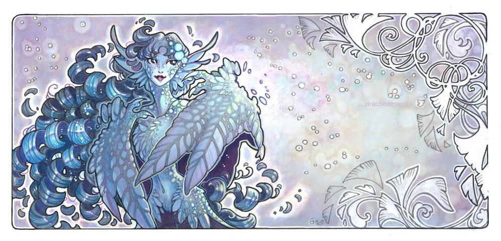 dragon lady by drachenmagier
