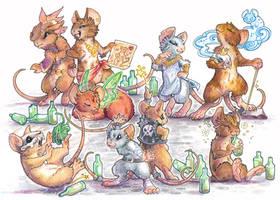 mouse brigade by drachenmagier