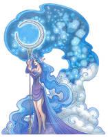 starlight staff by drachenmagier