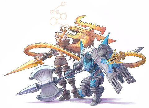 Dragon Marked For Death - Tagteam