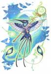commission - guardian hummingbird