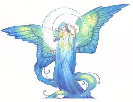 moon angel thingy