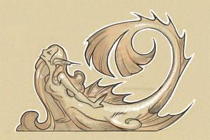 banana mermaid