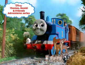 Thomas, Bambi and Friends Poster Season 3 by GeorgeGarza01