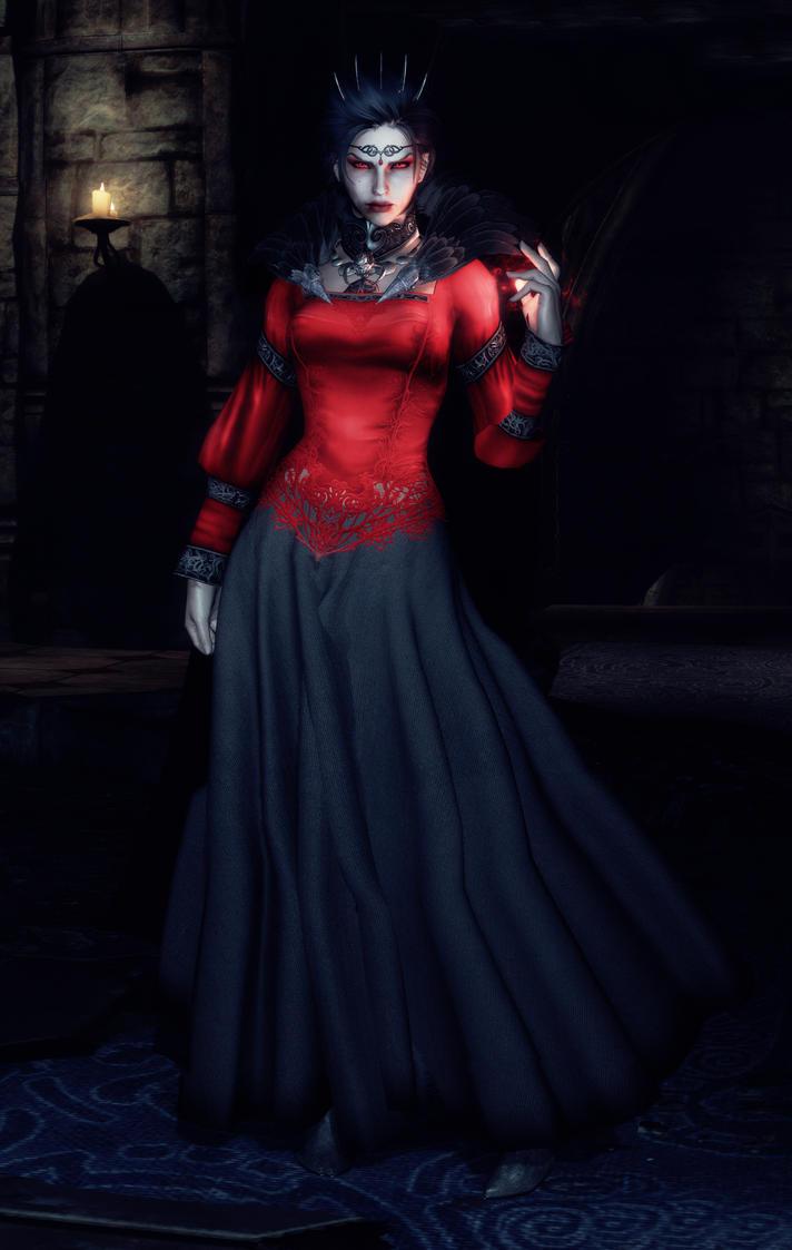 Royal Vampire Gown - Eris by kayinvanderkill on DeviantArt