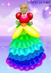 The raibow dress by galbin32