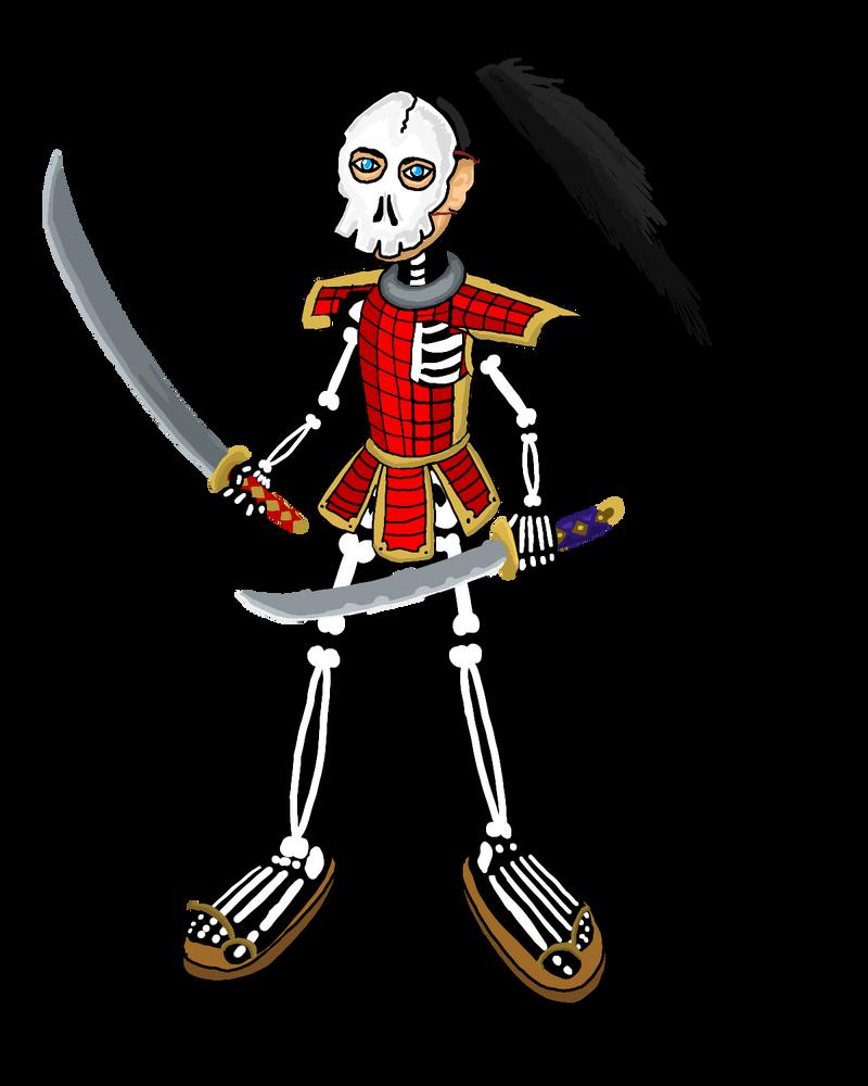 Undead Samurai Costume