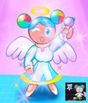 Cyber angel Cookiedroid by galbin32