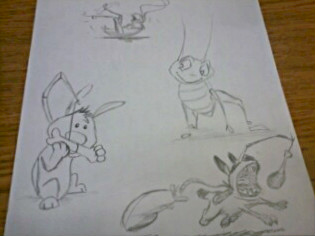 Mulan Animals by AshleyDesignSmith