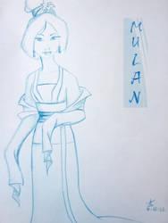 Mulan by AshleyDesignSmith