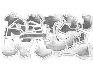 Graffiti Peace by AshleyDesignSmith