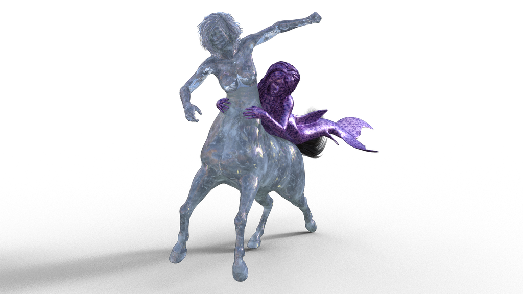 Horsie ride stone by lasserine