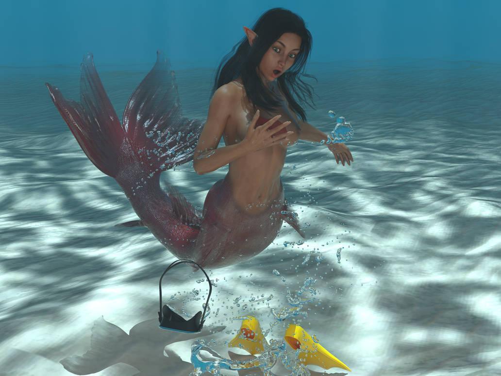 Water adventure by lasserine
