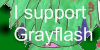 I Support Grayflash Stamp by doeey