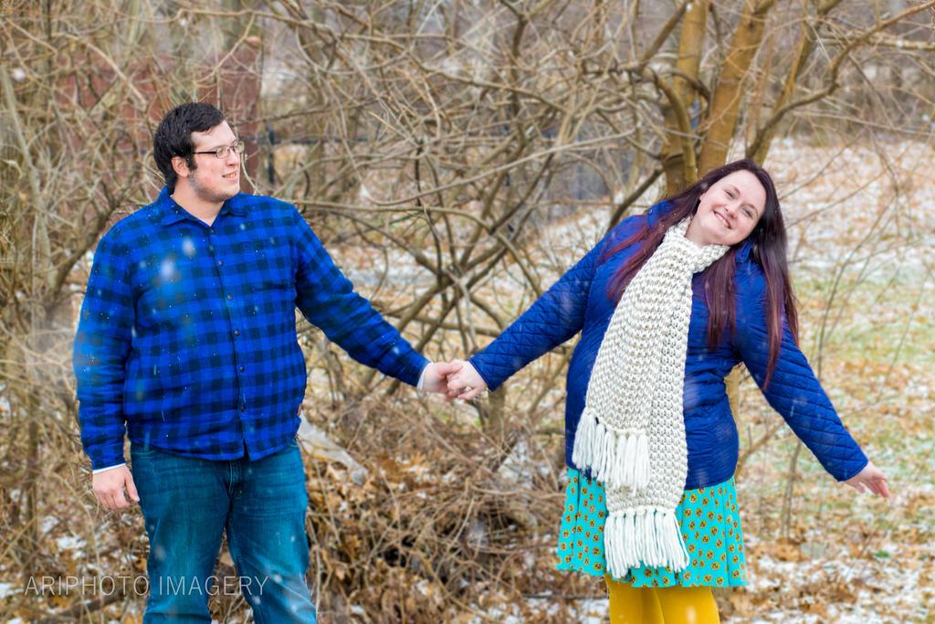 Haley and Josh Engagement by arivendi
