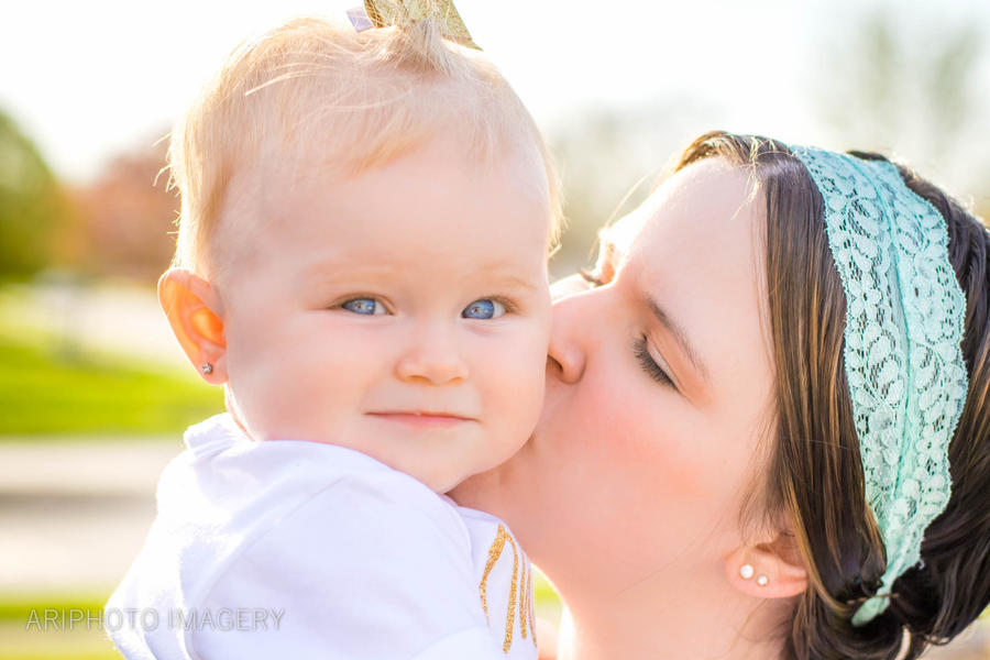 Elyanna and Makenzie - Mommy and Me by arivendi