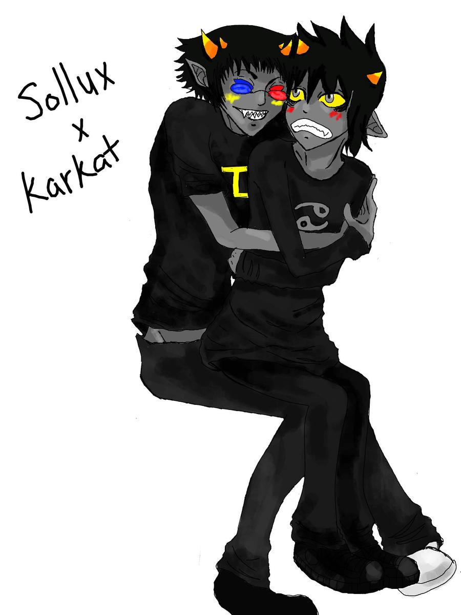 Sollux x karkat by pimproxas on deviantart