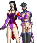 Allison and Lisa Yasha Style by Yasha-K