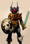 Warduke from Dungeons and Dragons