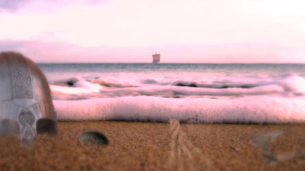 Strand by HerrAuenland