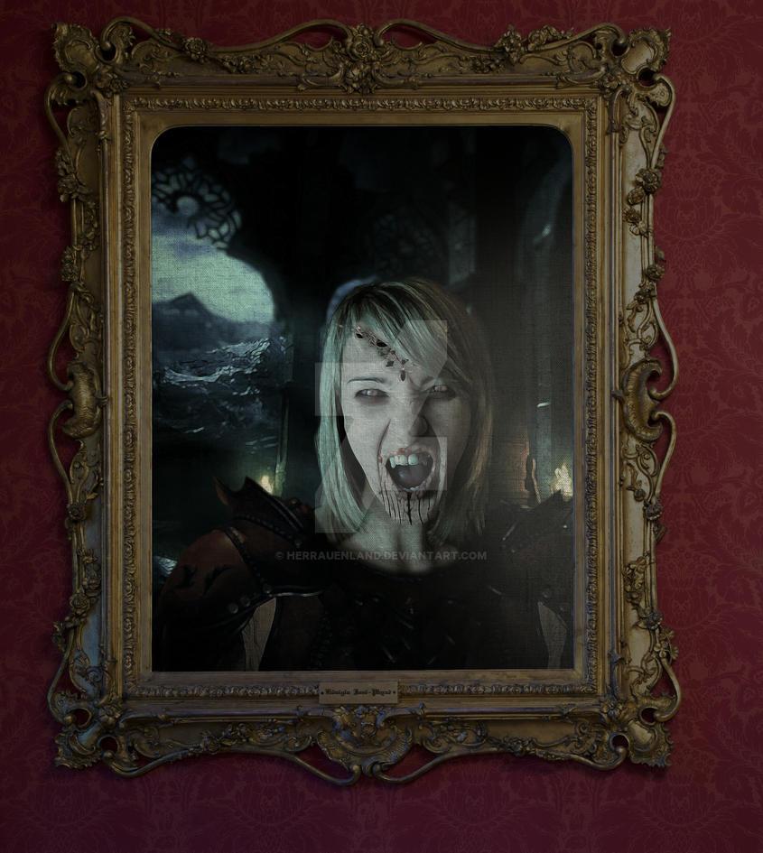 Female Vampire by HerrAuenland