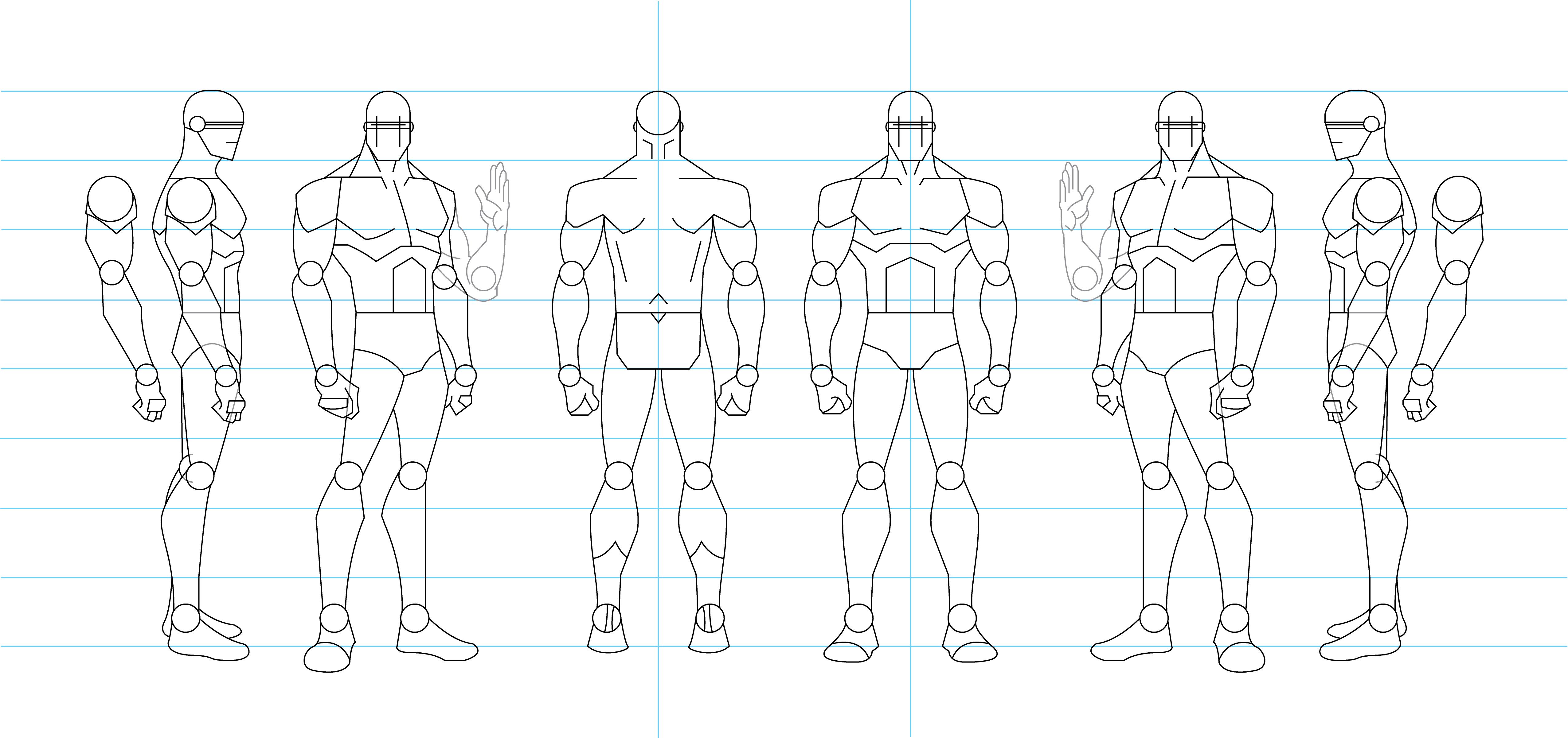 Human Male Figure Drawing | www.imgkid.com - The Image Kid ...