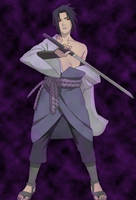 Sasuke Uchiha: Shippuuden by RafiX14