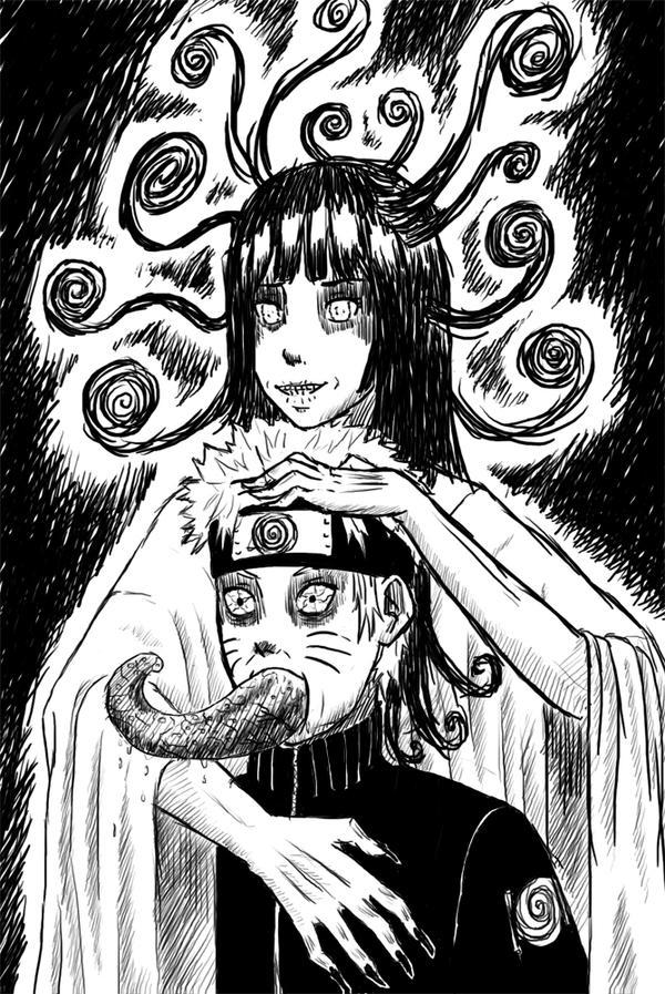 Naruto by Junji Ito by RafiX14