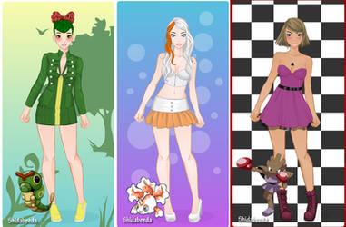 Pokemon - Rebel Girls Dollmaker by dollmake