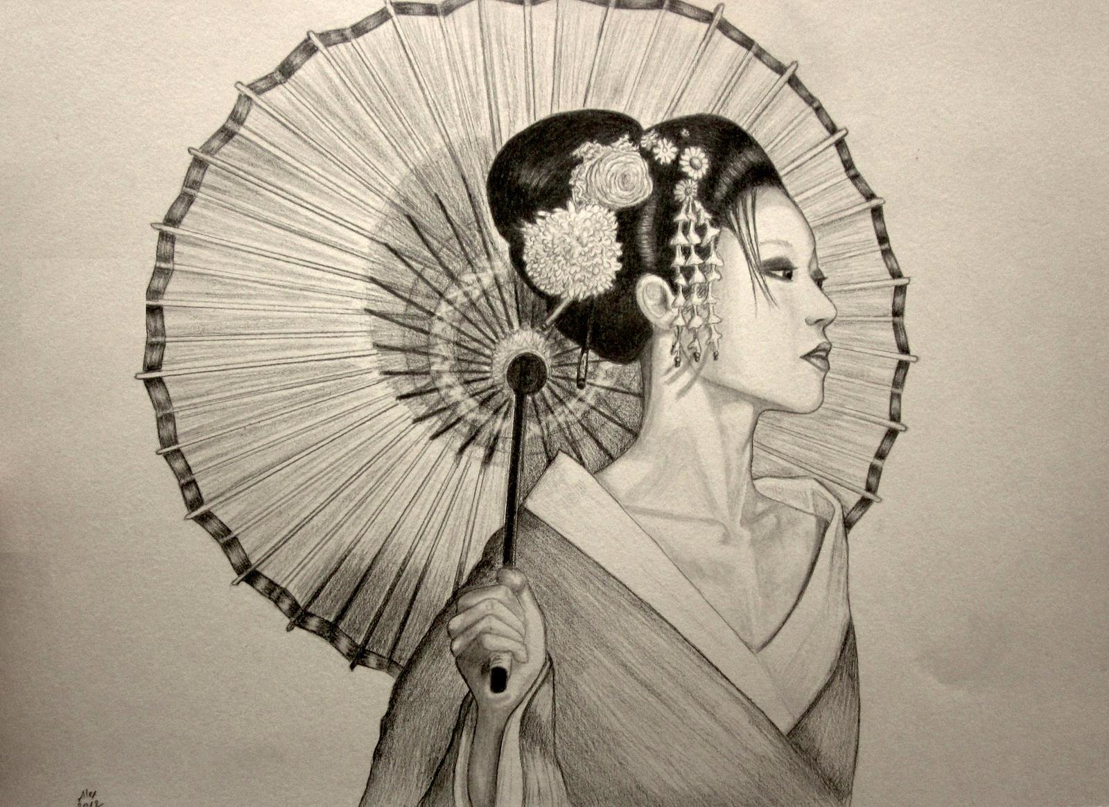 Geisha By Alexlehner On Deviantart