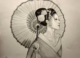 Geisha by AlexLehner