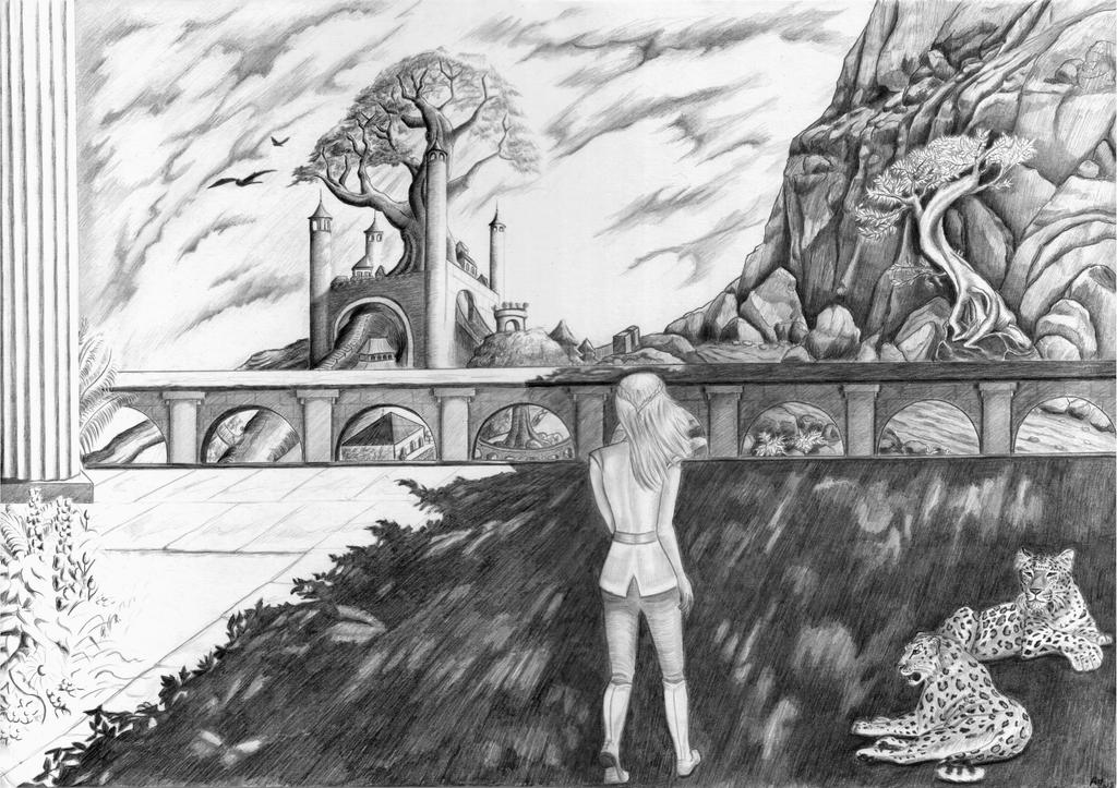Walk in the shadows by AlexLehner