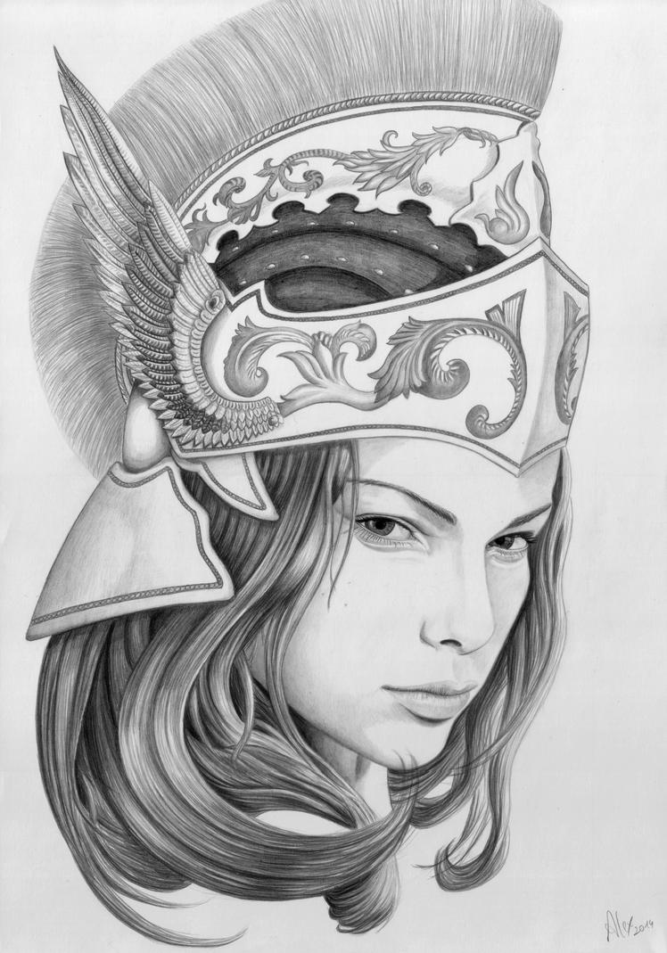 Athena by AlexLehner