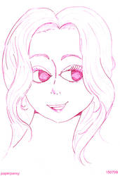 Luci in PINK by paperpansy